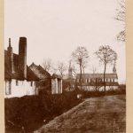 Esquermes : Ancienne église, rue de Canteleu  date : 1855 [1855] dimensions : 16,1 x 18,9 cm.